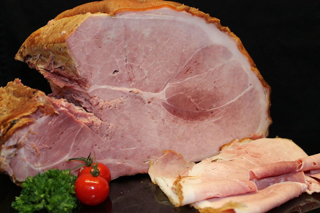 Op houtskool gegrilde ham - Slagersonline
