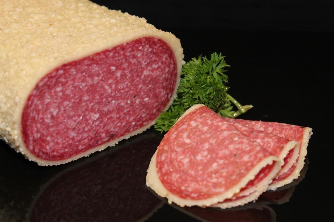 Salami met parmezan - Slagersonline