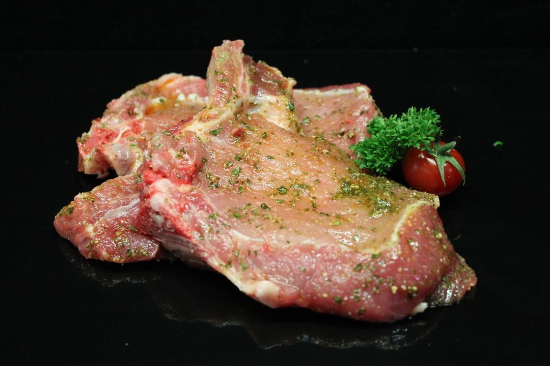 Gemarineerde varkenskotelet - Slagersonline