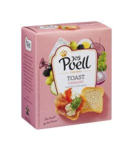 Toast Vierkant Jos Poell (50 Gram) - Slagersonline