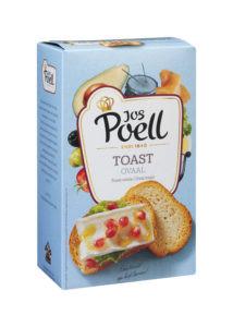 Toast Ovaal Jos Poell (90 Gram) - Slagersonline