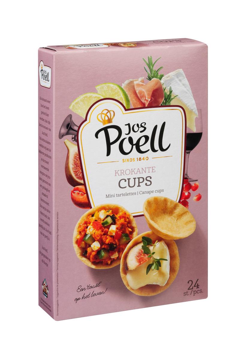 Party Cups  Assorti Jos Poell (100 Gram) - Slagersonline