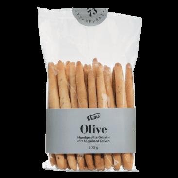 Grissini Mini alle Olive Taggiasche (100 Gram) - Slagersonline