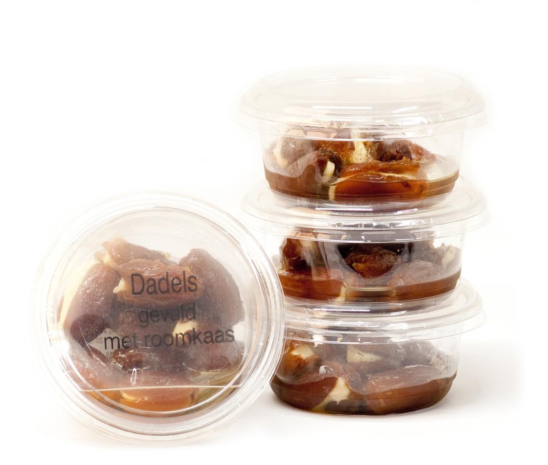 Gevulde Dadels met Roomkaas (100 Gram) - Slagersonline