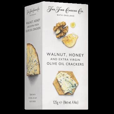 Walnut, Honey & Extra Virgin olive oil Crackers  - Slagersonline