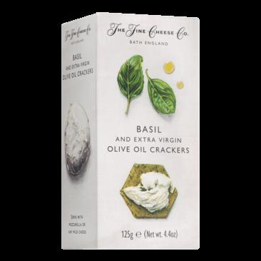 Basilicum en extra vierge olijfolie Crackers  - Slagersonline
