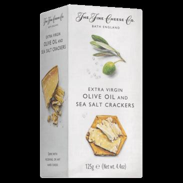 Extra vierge olijfolie en zeezout crackers  - Slagersonline