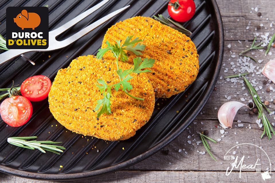 Burger Duroc d'Olives (+/-120g) - Slagersonline