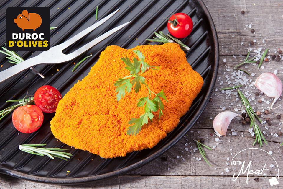 Paprikaschnitzel Duroc d'Olives (+/-170g) - Slagersonline