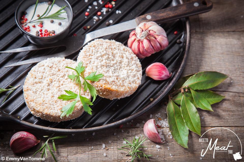 Vegetarische burger (+/-110g) - Slagersonline