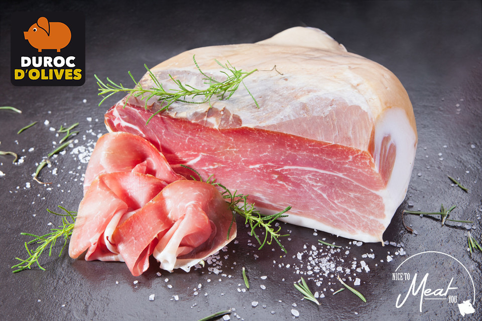 Rauwe ham Duroc d'Olives - Slagersonline