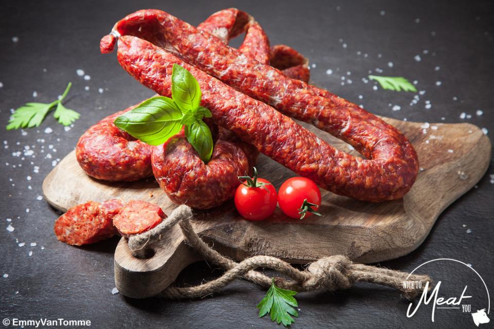 Chorizo droge worst - Slagersonline
