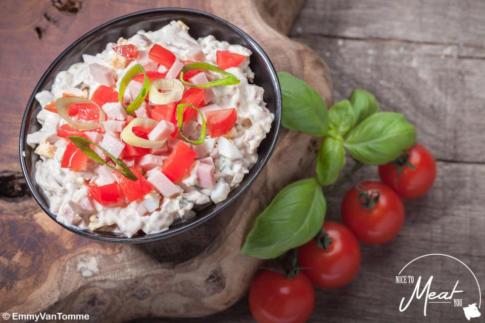 Italiaanse vleessalade - Slagersonline