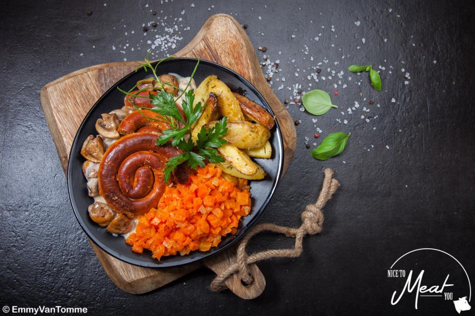 Dagschotel vlees - groenten/fruit - aardappel/rijst/pasta - Slagersonline