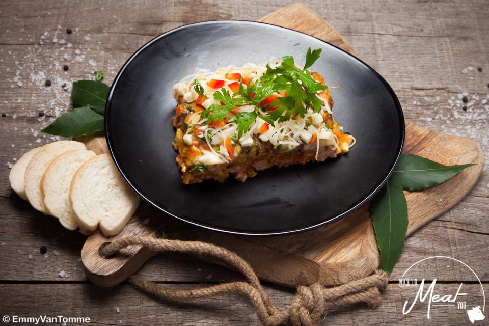 Italiaanse ovenschotel +/- 500g - Slagersonline
