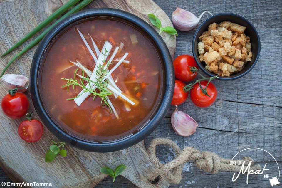 Tomaten-groentesoep - Slagersonline