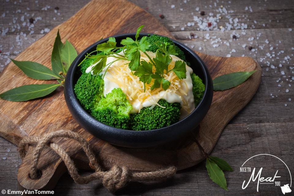Broccoli in béchamelsaus - Slagersonline