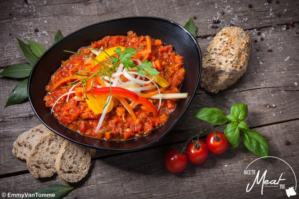 Vegetarische spaghettisaus - Slagersonline