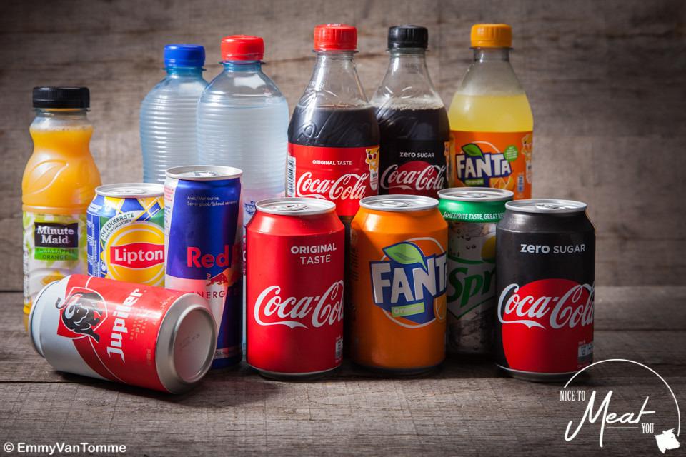 Blikje cola zero - Slagersonline