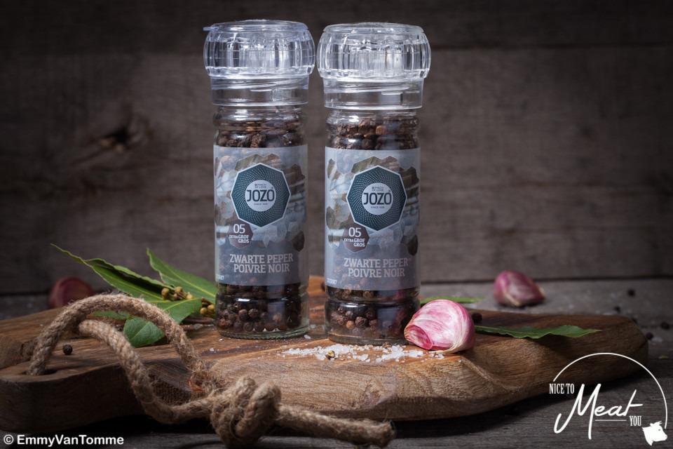 Pepermolen met zwarte peper 50g - Slagersonline